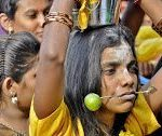 Thaipusam, a Hindu celebration of Malaysians of Tamil Indian origin